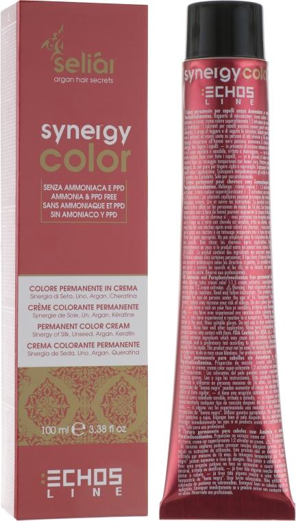 Безаммиачная крем-краска с арганой и кератином - EchoslineSeliar Synergy Color