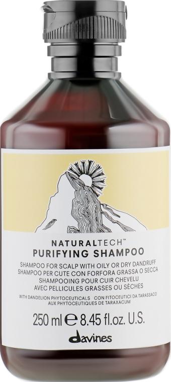Очищающий шампунь против перхоти - Davines Purifying Shampoo