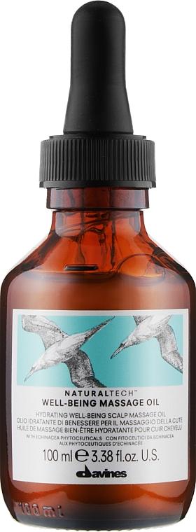 Масажне масло для шкіри голови - Davines Well Being Massage Oil — фото N1