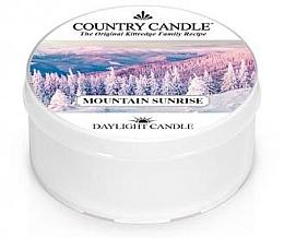 Духи, Парфюмерия, косметика Чайная свеча - Country Candle Mountain Sunrise Daylight
