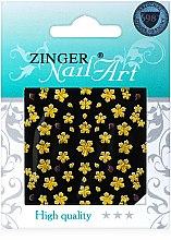 Духи, Парфюмерия, косметика Наклейки для дизайна ногтей, fda-187 - Zinger Nail Art Sticker