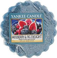 Духи, Парфюмерия, косметика Ароматический воск - Yankee Candle Mulberry & Fig Delight Wax Melts