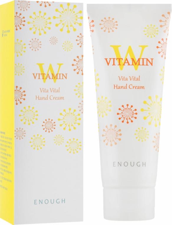 Крем для рук с витаминным комплексом - Enough W Collagen Vita Hand Cream