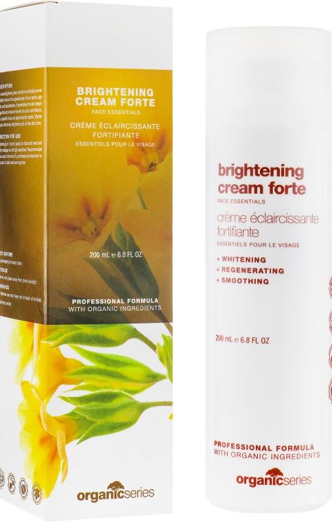 Осветляющий крем для лица - Organic Series Brightening Cream Forte