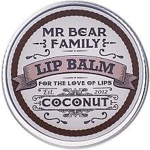 Духи, Парфюмерия, косметика Бальзам для губ - Mr. Bear Family Lip Balm Coconut