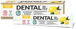 "Духи, Парфюмерия, косметика Зубная паста ""Натуральная белизна"" - Dental Bio Vital Natural White Toothpaste"