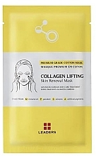 Духи, Парфюмерия, косметика Укпреляющая маска - Leaders Collagen Lifting Skin Renewal Mask