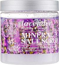 Духи, Парфюмерия, косметика Скраб для тела с минералами Мертвого моря и маслом лаванды - Dead Sea Collection Coconut Salt Scrub