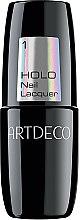 Духи, Парфюмерия, косметика Лак для ногтей с радужным эффектом - Artdeco Holo Nail Lacquer (тестер)