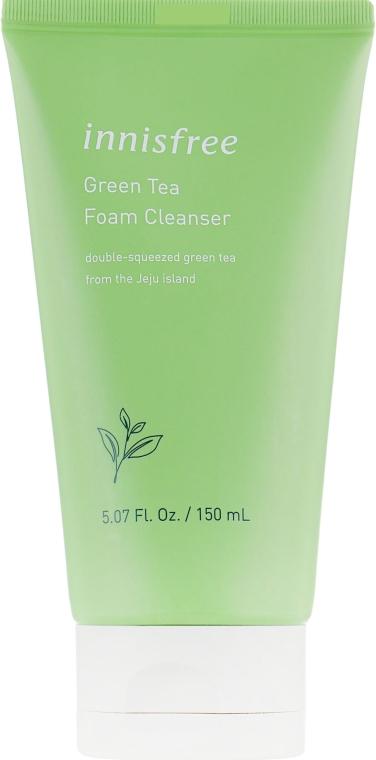 Пенка для умывания с экстрактом зеленого чая - Innisfree Green Tea Foam Cleanser