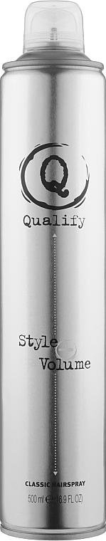 Лак для волос сильной фиксации - Artego Quality Style+ Volume Classic Hairspray
