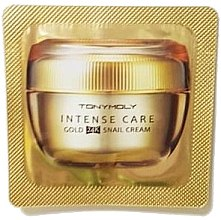 Духи, Парфюмерия, косметика Крем для лица - Tony Moly Intense Care Gold 24K Snail Cream (пробник)