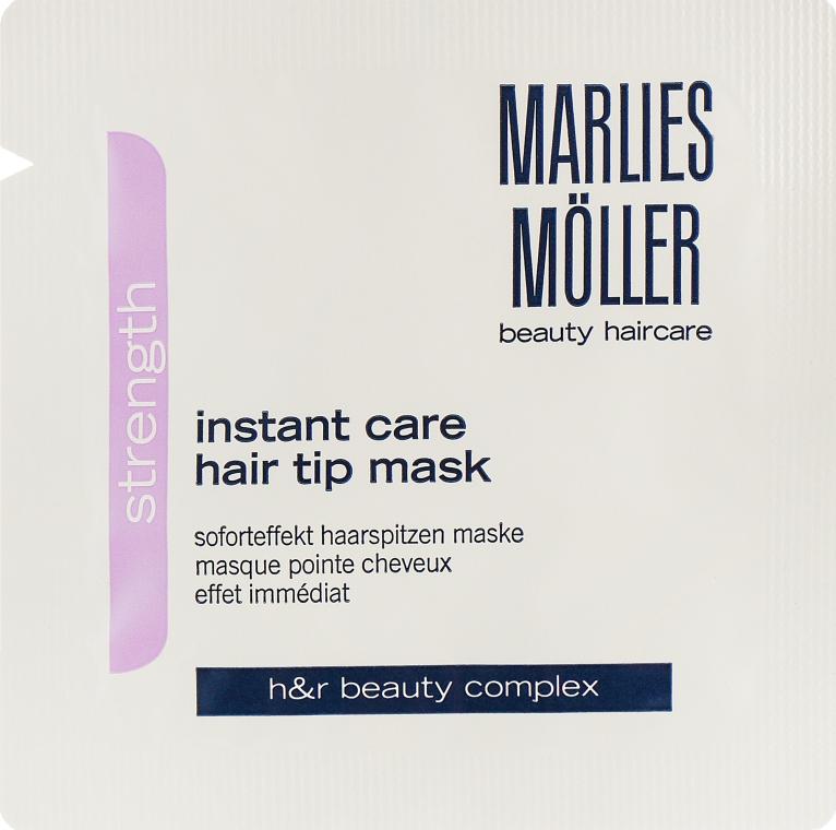 Маска мгновенного действия для кончиков волос - Marlies Moller Strength Instant Care Hair Tip Mask (пробник)