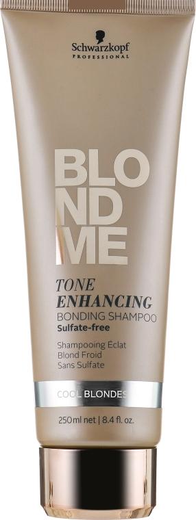 Шампунь-бондинг для холодных оттенков блонд - Schwarzkopf Professional Blondme Tone Enhancing Bonding Shampoo Cool Blondes