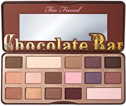 Палетка теней для век - Too Faced Chocolate Bar Eye Shadow Collection — фото N1
