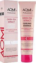 Духи, Парфюмерия, косметика Эссенция для кудрявых и вьющихся волос с эффектом стайлинга - Aomi Green Tea Extract Curling Essence