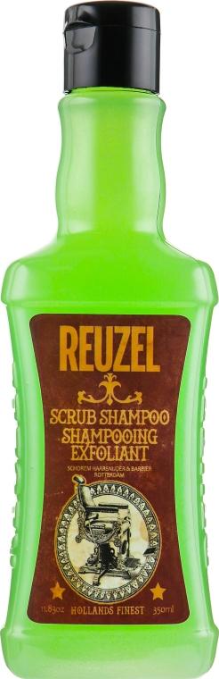 Шампунь-скраб для волос - Reuzel Finest Scrub Shampoo Exfoliant