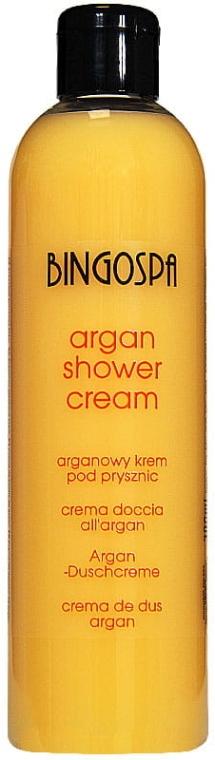 Аргановый крем для душа с персиком - BingoSpa Argan Oil Shower Cream With Peach