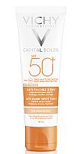 Духи, Парфюмерия, косметика Солнцезащитный крем для кожи лица 3-в-1 с тонирующим эффектом против пигментных пятен, SPF50+ - Vichy Ideal Soleil Anti-Taches Anti-Dark Spots SPF50