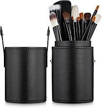 Набір пензлів для макіяжу 15 шт., у косметичці - Aise Line Makeup Brush Set — фото N1