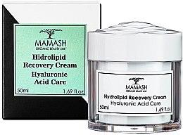 Духи, Парфюмерия, косметика Восстанавливающий крем с гиалуроновой кислотой - Mamash Organic Hydrolipid Recovery Cream