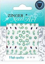 Духи, Парфюмерия, косметика Наклейки для дизайна ногтей, fda-212 - Zinger Nail Art Sticker
