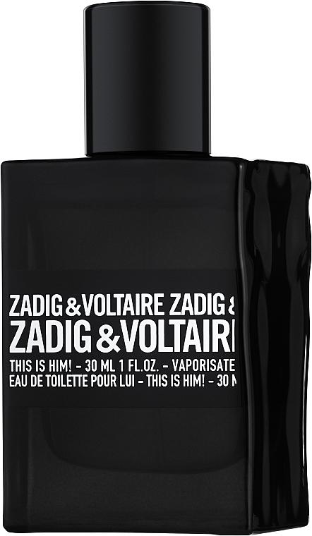 Zadig & Voltaire This is Him - Туалетная вода (тестер с крышечкой)