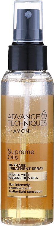 "Двухфазная сыворотка-спрей ""Драгоценные масла"" - Avon Advance Techniques Nutri 5 Complex Serum Spray"