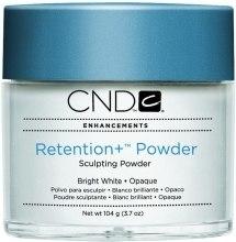 Парфумерія, косметика Яскраво-біла акрилова пудра - CND Retention+ Powder Sculpting Powder Bright White
