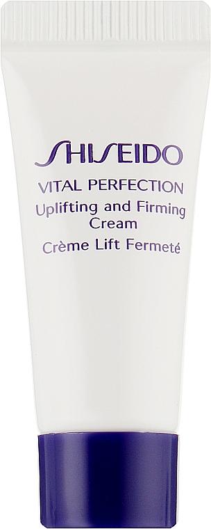 Подтягивающий и укрепляющий крем для лица - Shiseido Vital Perfection Uplifting and Firming Cream (пробник)