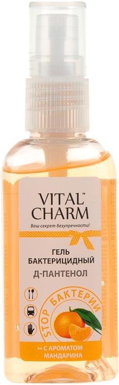 Гель бактерицидный с Д-пантенолом, с ароматом мандарина - Vital Charm