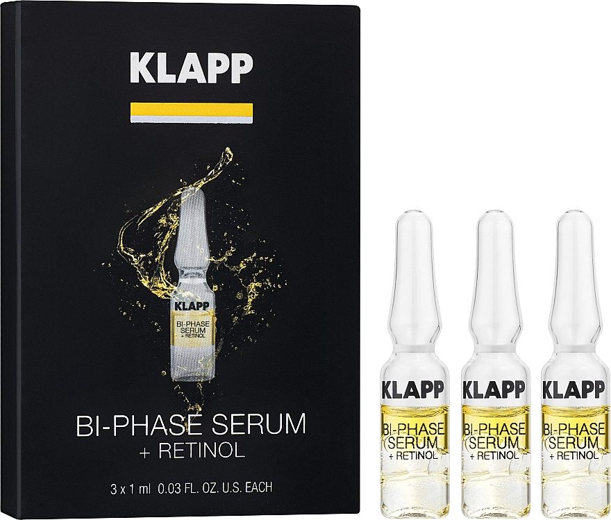 "Двухфазная сыворотка ""Ретинол"" - Klapp Bi-Phase Serum Retinol"