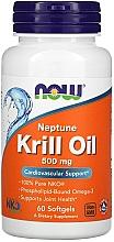 Духи, Парфюмерия, косметика Масло криля, 500 мг - Now Foods Neptune Krill Oil Softgels