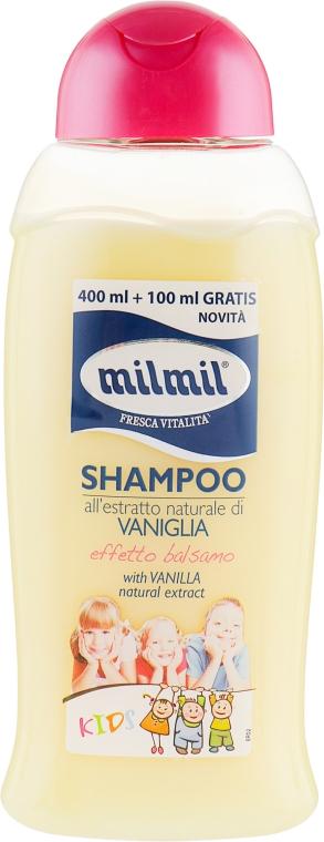 Шампунь-бальзам для детей с экстрактом ванили - Mil Mil Shampoo Kids With Vanilla Natural Extract