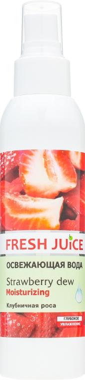 """Освежающая вода для лица и тела """"Клубничная роса"""" - Fresh Juice Strawberry Dew"""
