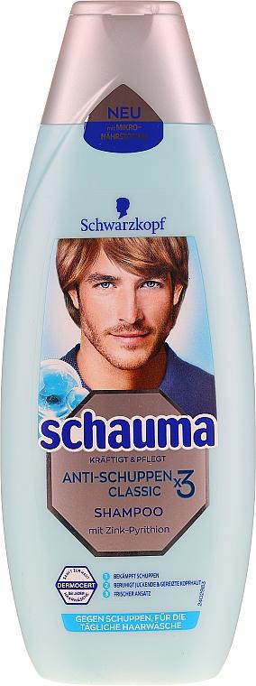 """Шампунь для чоловіків """"Classic"""", від лупи - Schauma Men Shampoo — фото N1"""
