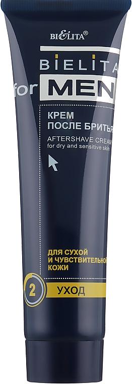 Крем после бритья для сухой и чувствительной кожи - Bielita For Men