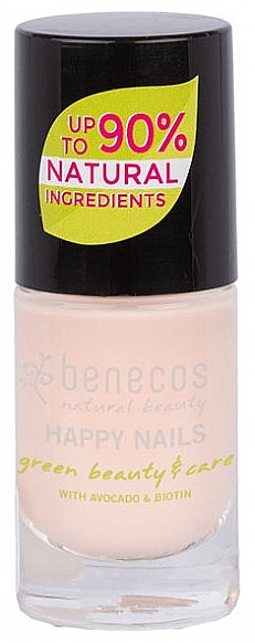 Лак для ногтей, 5 мл - Benecos Happy Nails Nail Polish