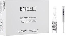 Духи, Парфюмерия, косметика Набор пиллинг крем + сыворотка для отшелушивания - BQCell Derma Skin Peeling