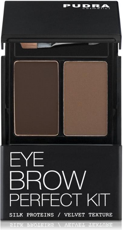 Тени для бровей - Pudra Cosmetics Eye Brow Shadow