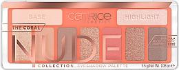 Духи, Парфюмерия, косметика Палетка теней для век - Catrice The Coral Nude Collection Eyeshadow Palette