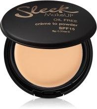 Духи, Парфюмерия, косметика Кремовая пудра для лица - Sleek MakeUP Creme to Powder SPF15