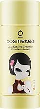 "Духи, Парфюмерия, косметика Очищающий стик для лица ""Белый чай и лимон"" - Cosmetea Dust Out Tea Cleanser White Tea + Lemon"
