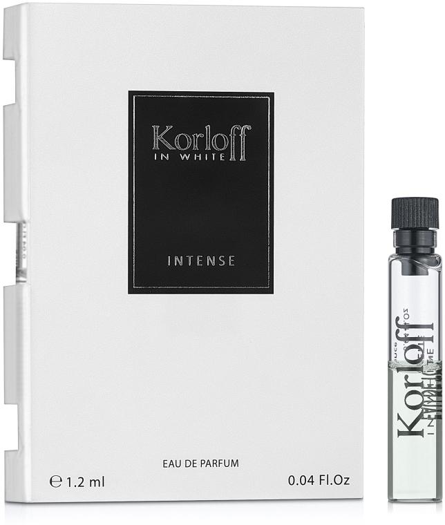 Korloff Paris In White Intense - Парфюмированная вода (пробник)