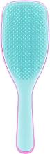 Духи, Парфюмерия, косметика Расческа для волос, розово-голубая - Tangle Teezer The Wet Detangler Hyper Pink Large Hairbrush