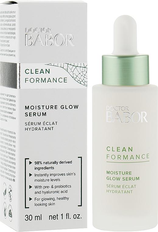 Увлажняющая сыворотка для сияния кожи - Babor Doctor Babor Clean Formance Moisture Glow Serum