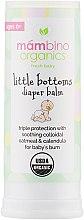 Духи, Парфюмерия, косметика Бальзам для детских ягодиц - Mambino Organics Infant & Baby Care Little Bottoms Diaper Balm