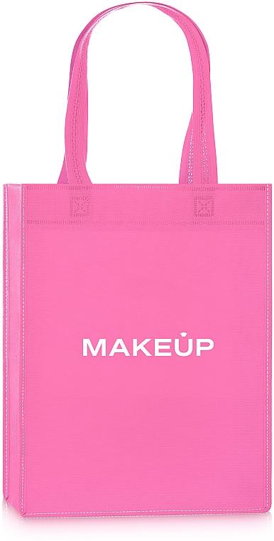 Сумка-шоппер, розовая «Springfield» - Makeup Eco Friendly Tote Bag
