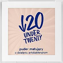 Духи, Парфюмерия, косметика Антибактериальная матирующая пудра - Under Twenty Anti! Acne Mattifying Transparent Powder