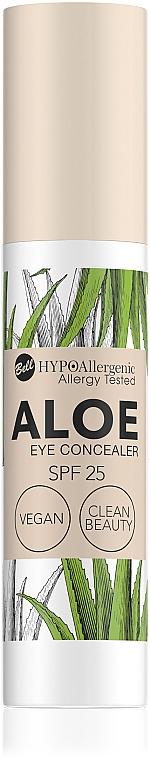 Консилер под глаза с защитой SPF25 - Bell Hypo Allergenic Aloe Eye Concealer SPF25